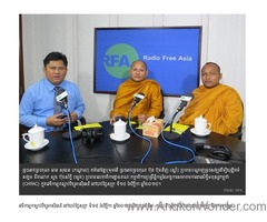 Defrocking the three monks by the civil authority is unacceptable